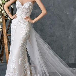 Kenneth Winston NEW wedding gown